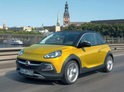 Тест-дайв Opel Adam Rocks